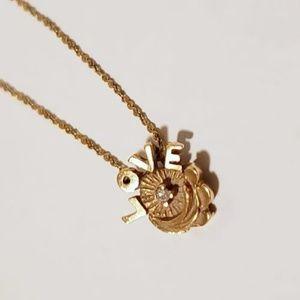 Vintage Jewelry - 14K Vintage Long Dainty Charm Necklace